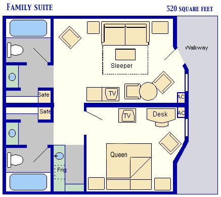 All Star Music Resort Family Suites At Disney World Are