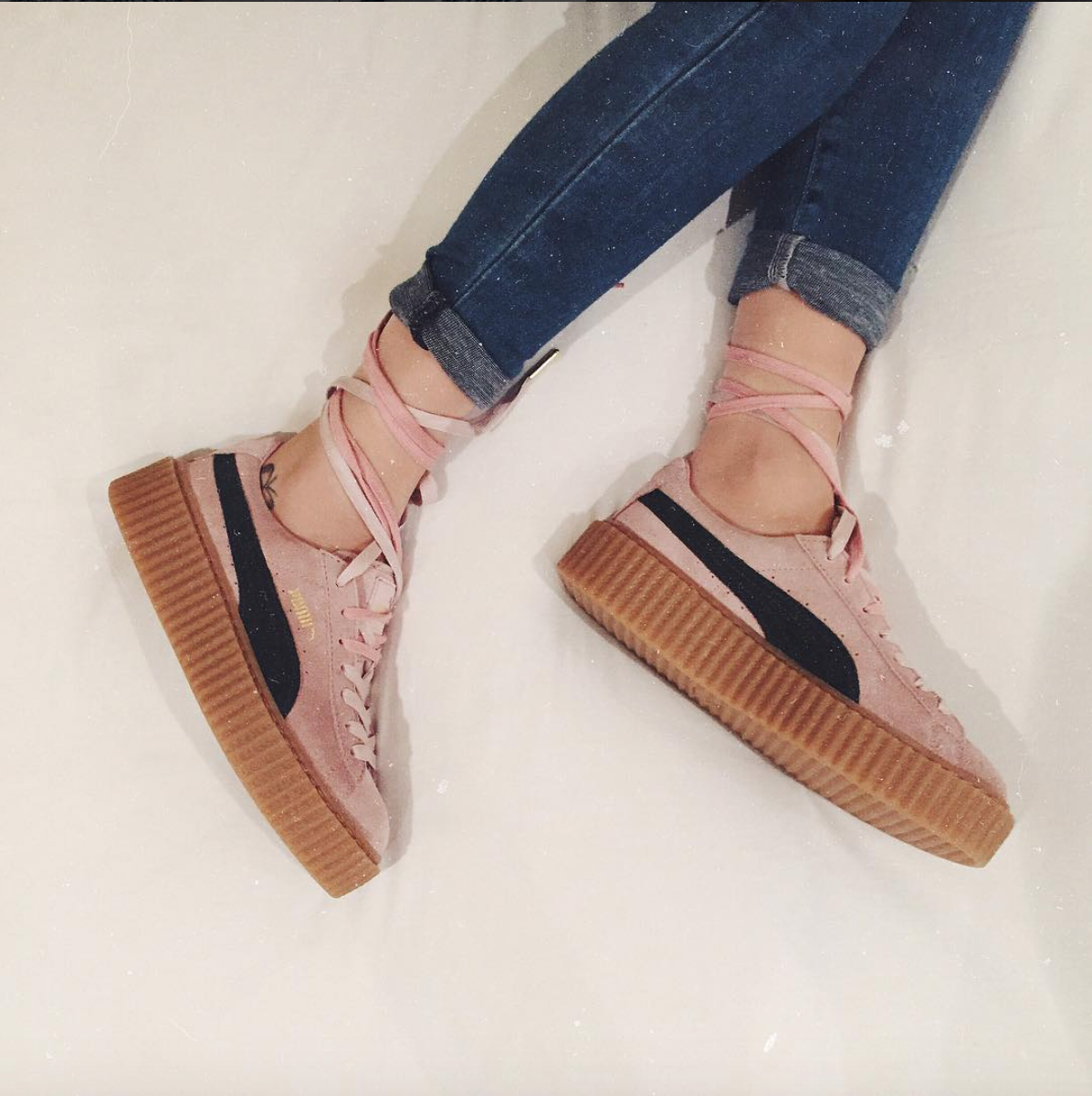 drawingnk Puma Sneakers, Shoes Sneakers, Creeper Sneakers, Creeper Shoes,  Looks Com 6c8da804538