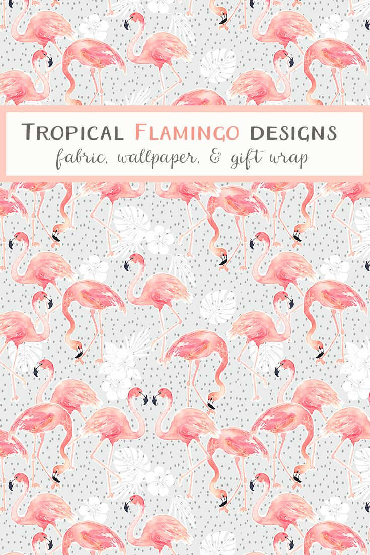Shop trending flamingo designs on fabric wallpaper and  wrap from indie designers spoonflower also best spring images in tapiz de rh co pinterest