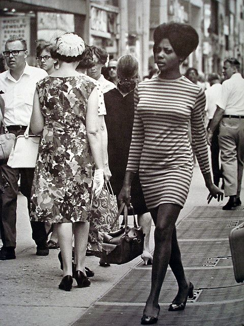 1960's New York City 5th Avenue   1960s, City and 60 s