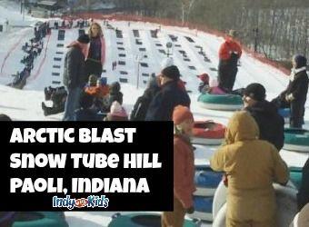 Arctic Blast Snow Tubing At Paoli Peaks Ski Resort Paoli Indiana Indy With Kids Snow Tubing Paoli Peaks Arctic Blast