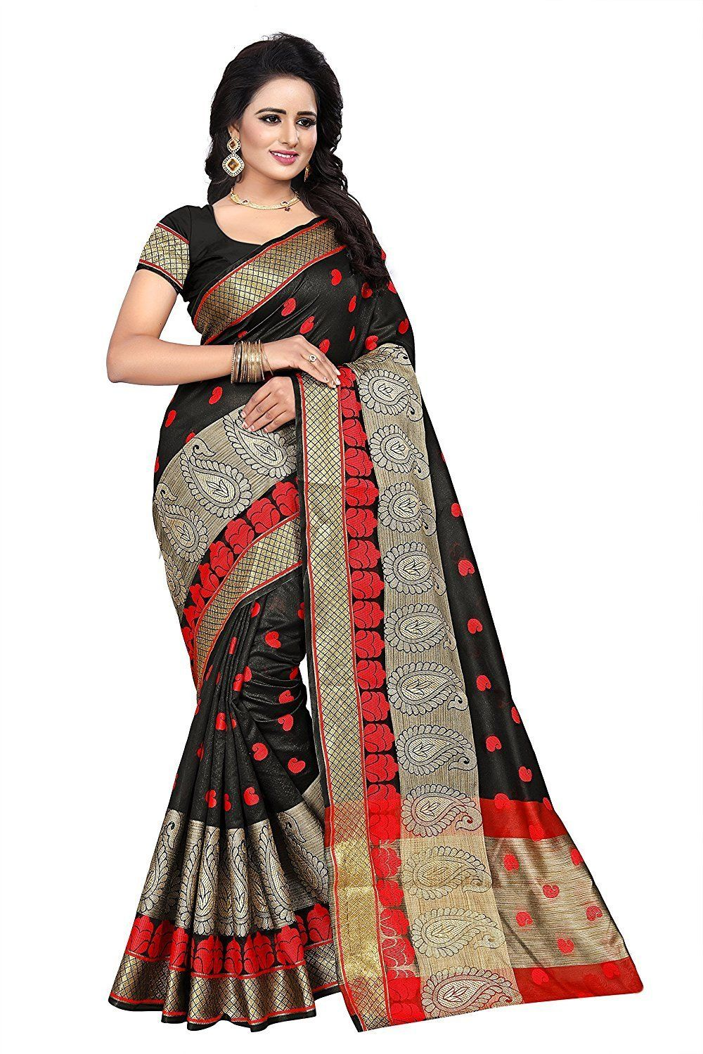 Shiroya brothers womenus clothing saree collection in multicolored