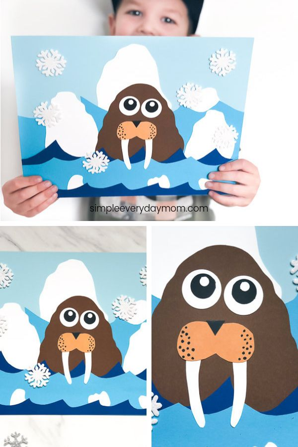 Arctic Animal Craft For Kids
