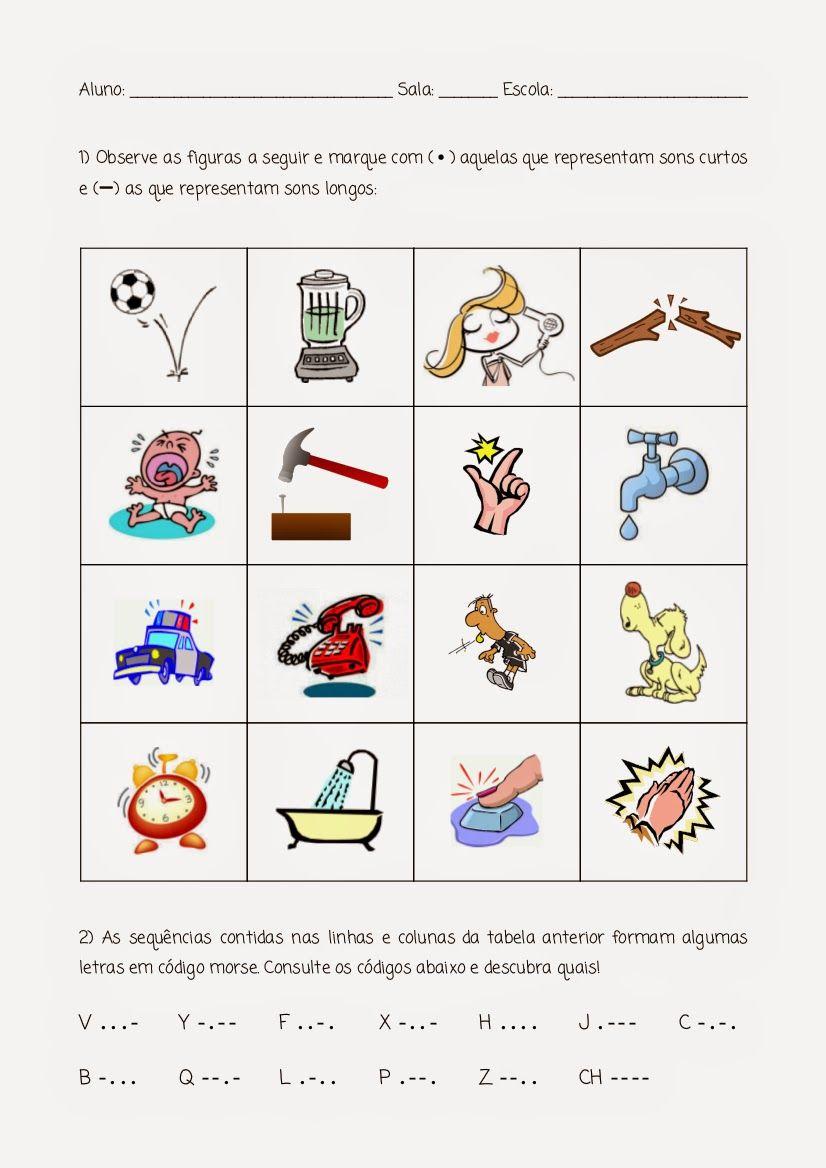 Atividades Em Folha Atividades De Educacao Musical Musica Para