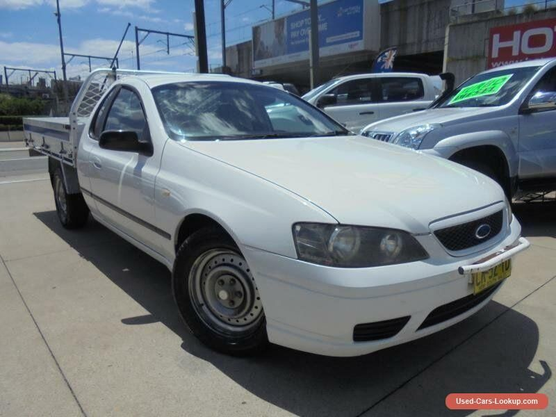 2006 Ford Falcon Bf Mk Ii Xl White Automatic 4sp A 2d Cab Chassis