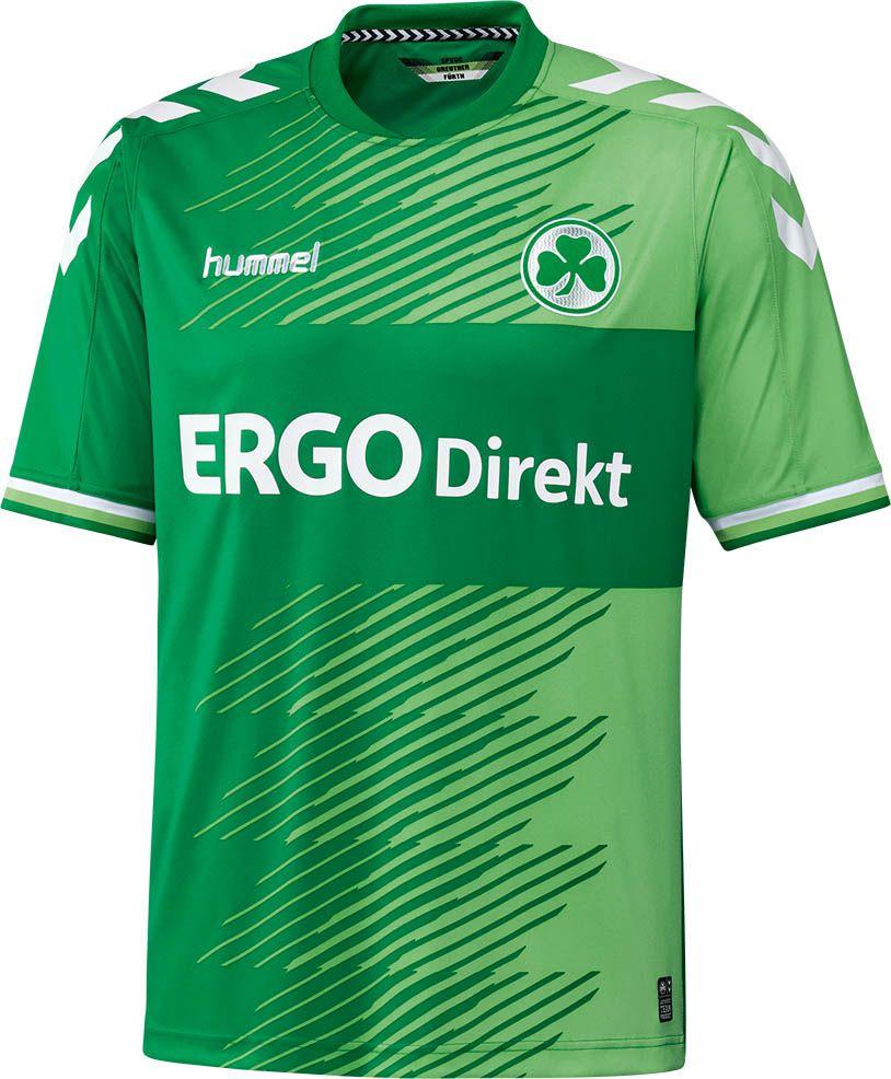 7d9116df5ab Spielvereinigung Greuhter Fürth (Germany) - 2015 2016 Hummel Home Shirt  Camisas De Futebol
