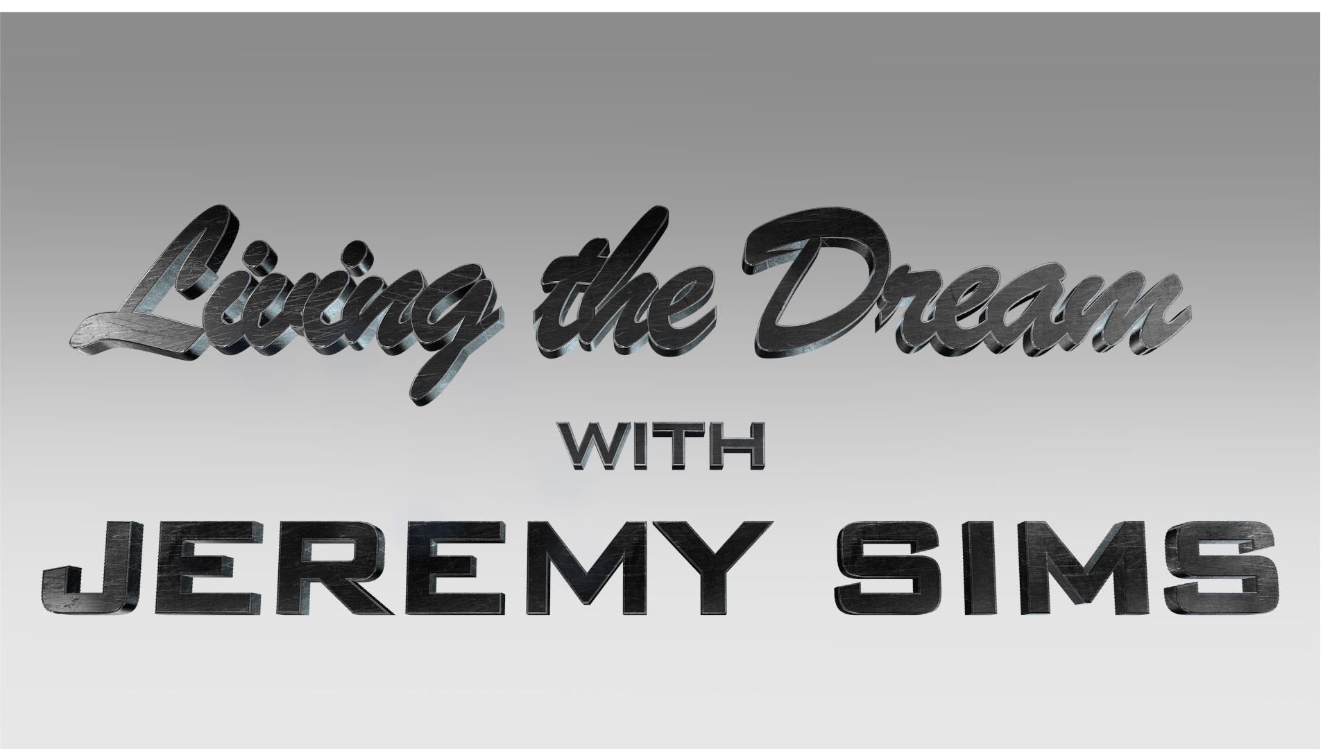 Jeremy Sims | Living the Dream | Presented by World Gym Vista, CA