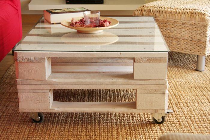Elegant Europalette Holz Paletten Diy Mbel Couchtisch Selber Bauen With  Couchtisch Selber Machen