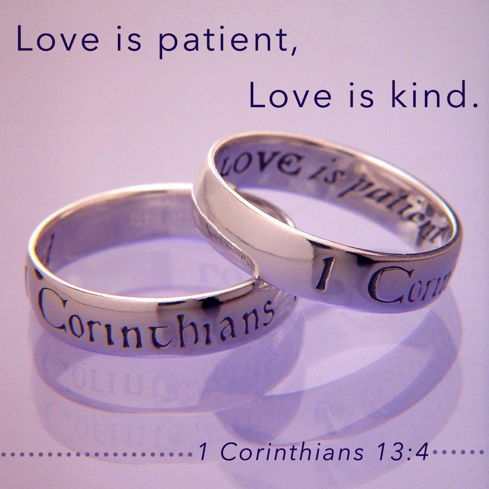 English Love Is Patient 1 Corinthians 13 Love is