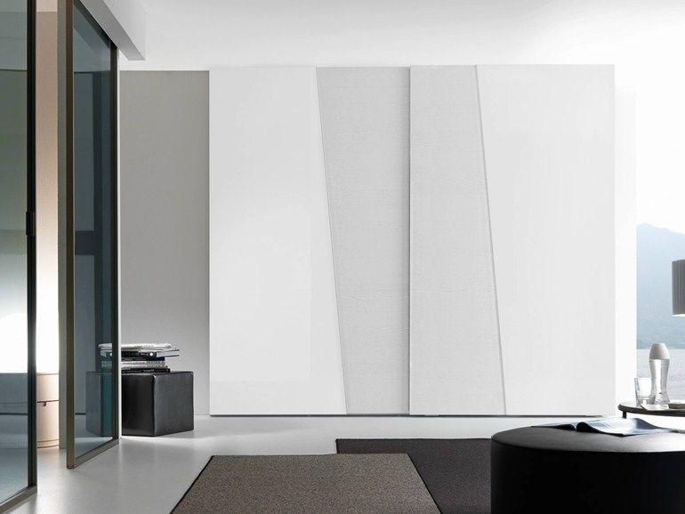 Armadio componibile laccato con ante scorrevoli diagonal for Presotto mobili prezzi