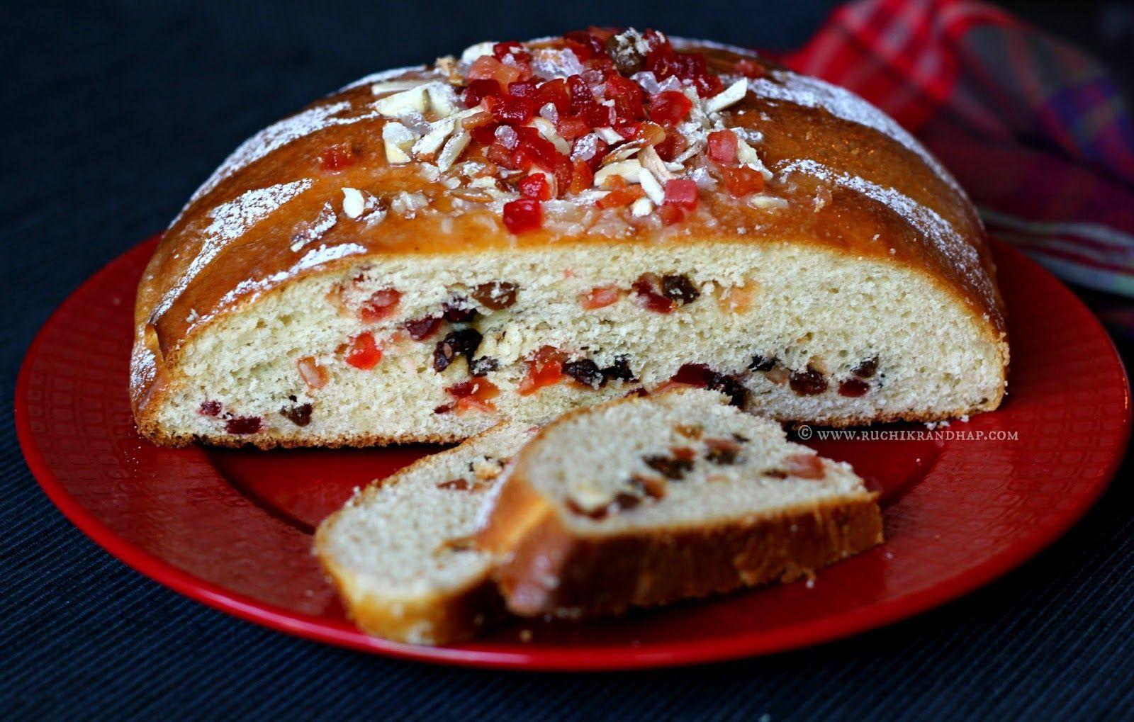 Julekake / Julekaga ~ Norwegian Cardamom Scented Christmas Bread in ...