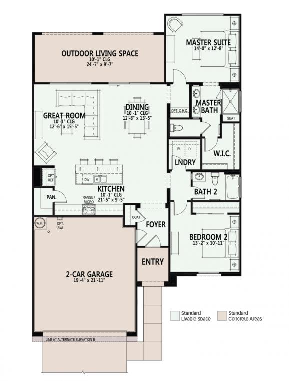 Luxury Retirement Communities For Active Adults And 55 Seniors Property Ora Model For Sale Luxurybeddingla House Floor Plans Cabin Floor Plans Floor Plans
