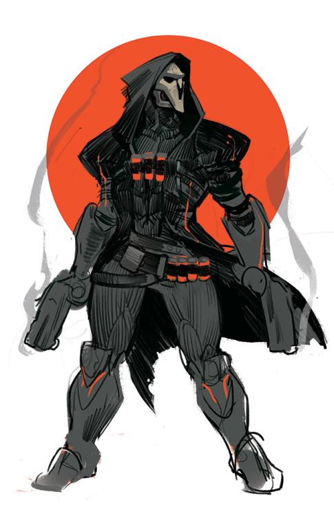 Kakimari Overwatch Reaper Overwatch Tracer Overwatch Comic