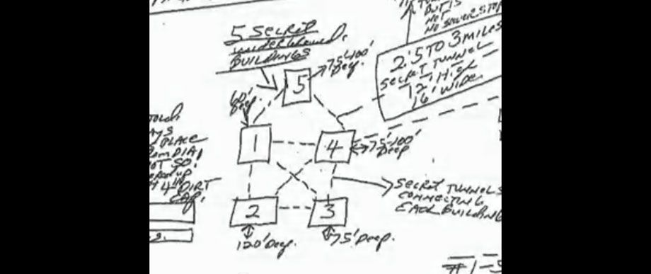 Finally lets return to those bunkers the photo above is a blueprints of 5 buildings mysteriously buried during the early construction of the denver airport hidden secrets malvernweather Gallery