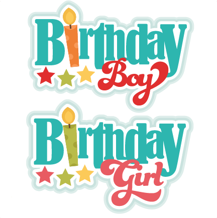Birthday Titles SVG scrapbook birthday svg cut files birthday svg files free svgs free svg cuts