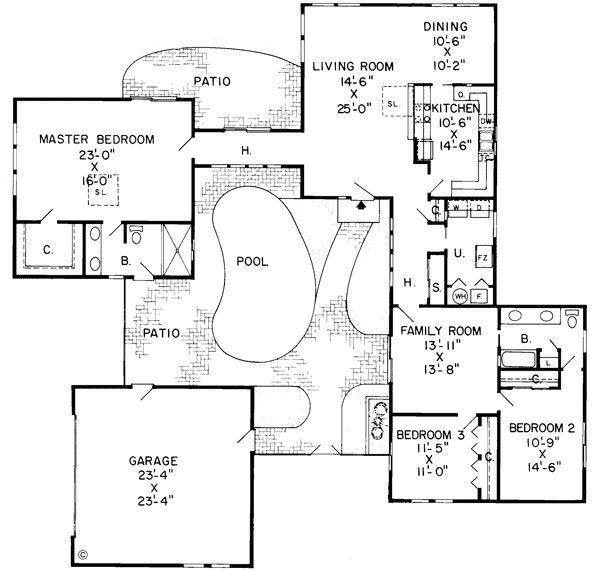 Contemporary Floor Plans Home Design Floor Plans Unique Floor Plans Affordable House Plans