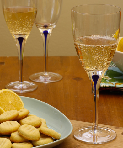 """Spring has sprung and it's time to celebrate the start of a new season. What says """"celebrate"""" more than popping open a bottle of bubbly?  So break out the champagne flutes and clink glasses to sunshine, warmer weather, and all other things spring with one of these nine effervescent cocktails."""