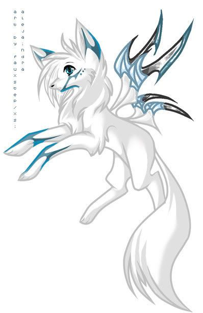 Anime wolf | winged wolves | Pinterest | Lobos, Dibujo y Dibujos ...