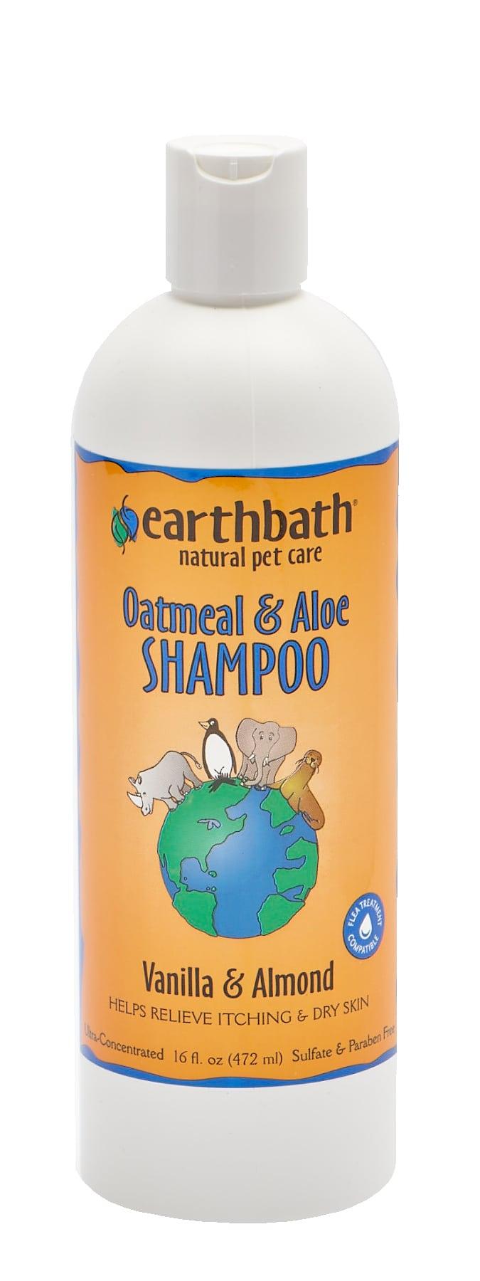 Oatmeal & Aloe Shampoo Pet shampoo, Aloe, Cat shampoo