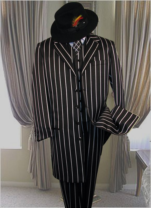 cdf26a222380bf black and white pinstripe suit for my man <3 haha | My Wedding ...