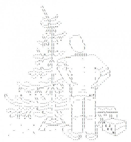 Ascii Art Christmas Tree SuriSara