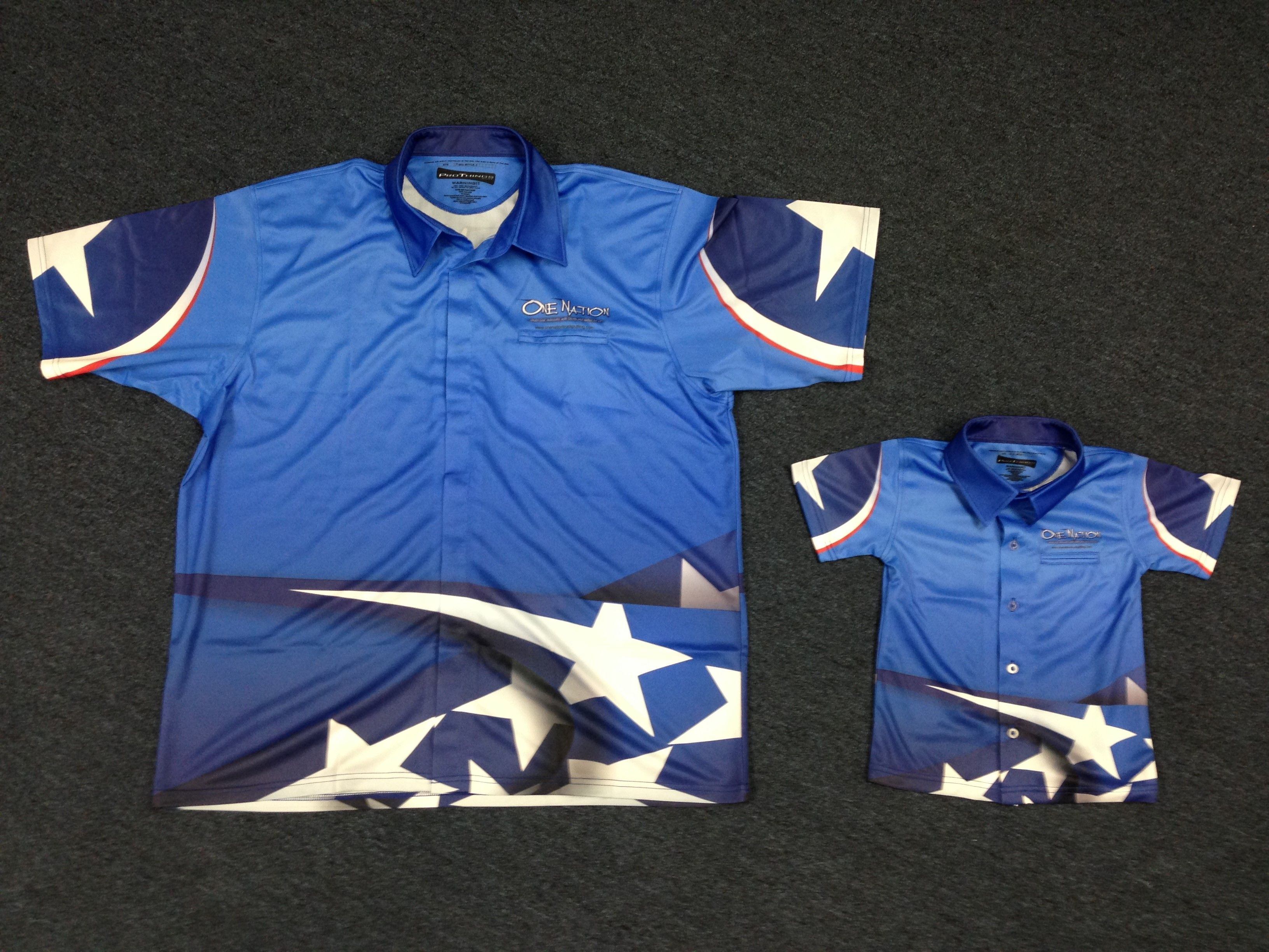 Sublimated Youth Racing Shirts To Match The Adults Custom