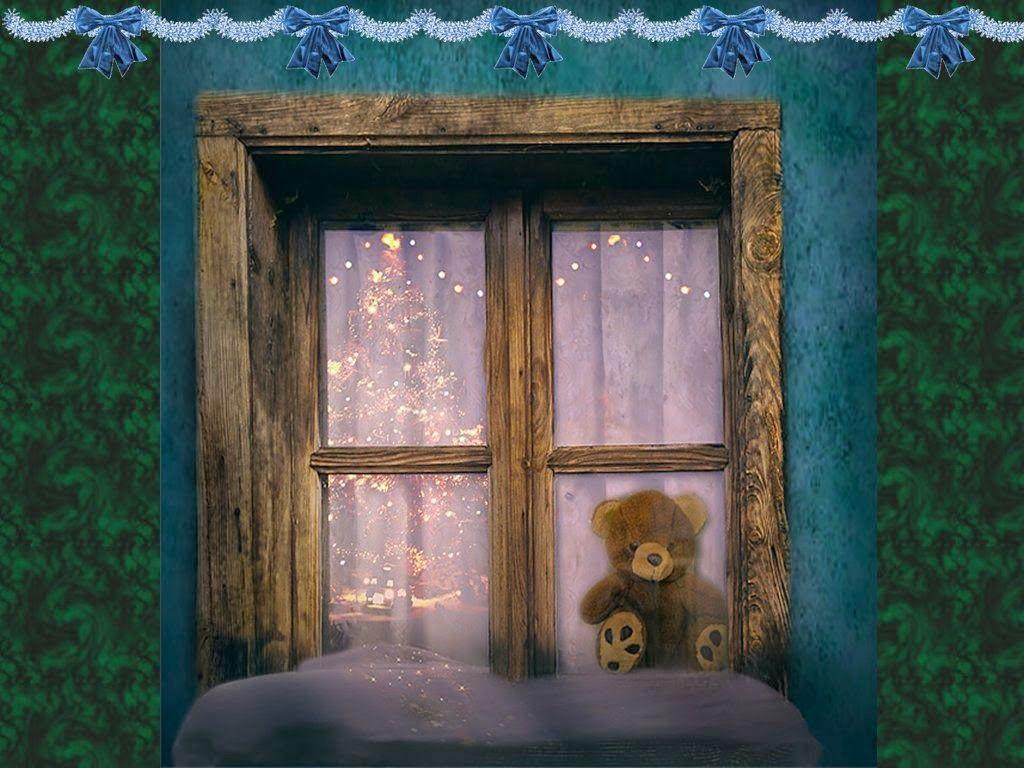 Teddy Bear In The Window