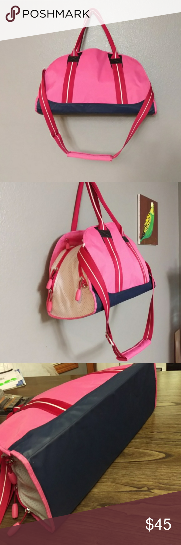 Hot Pink Nike Gym Bag  c9c3fe179