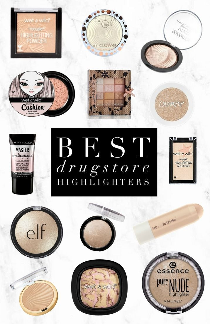 Best Drugstore Highlighters Best Drug Store Highlighter Highlighter Makeup Drugstore Highlighter