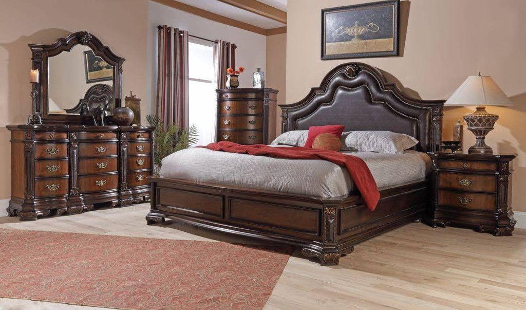 Lifestyle B Kings Mansion King Bedroom Set Bedroom Triad - Lifestyle furniture bedroom sets