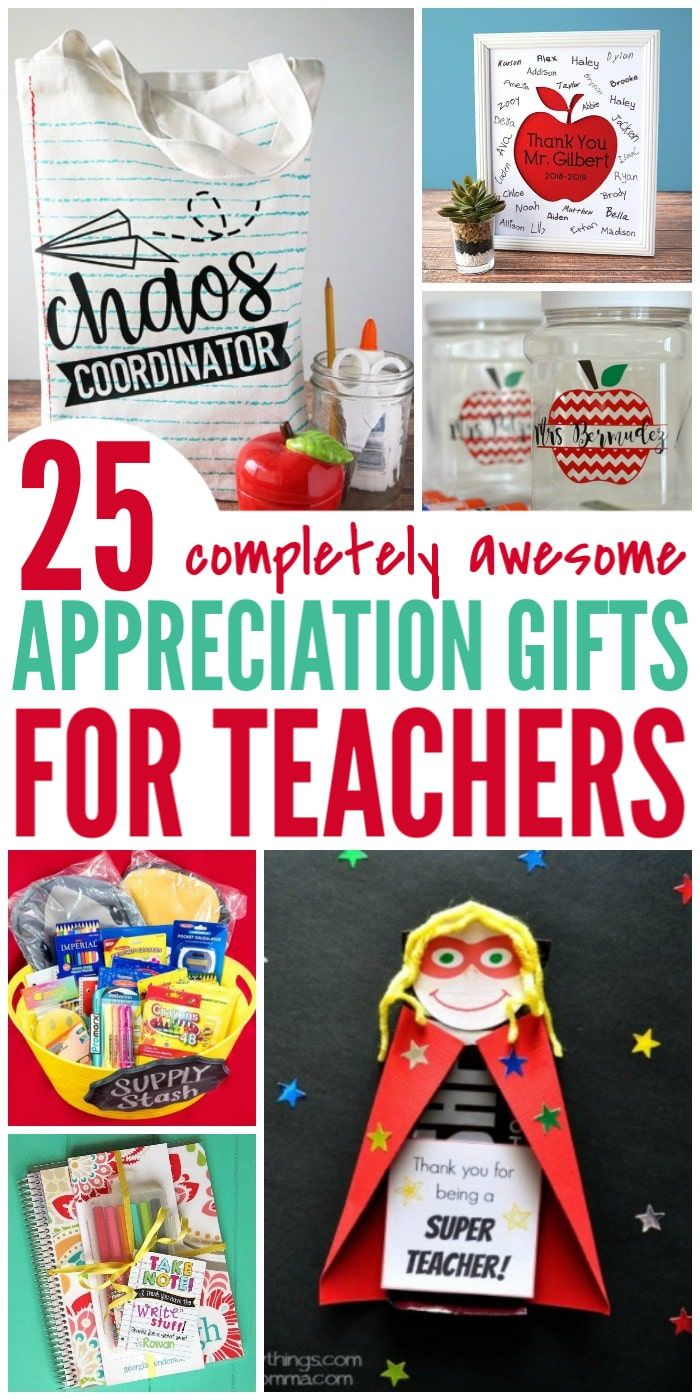 25 Awesome Teacher Appreciation Gift Ideas - List Obsessed