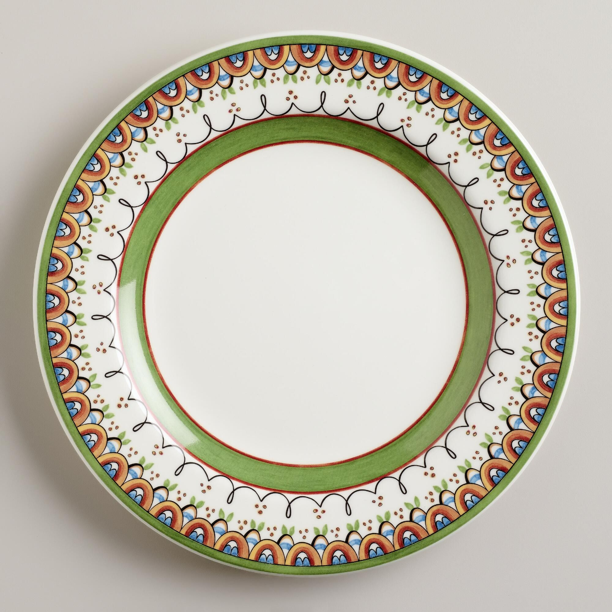 Dining Plates Set 1574 Mexican Dinner Plate Sets