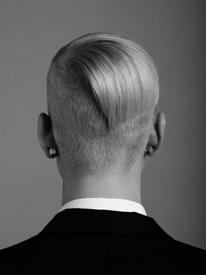 Undercut With Edgy Back Styling Undercut Hairstyle 45 Stylish