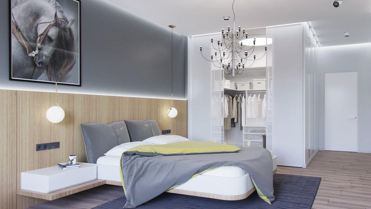 Progetti Camere Da Letto Piccole : Pin di david l su camera Люстры для спальни Спальня e Дом