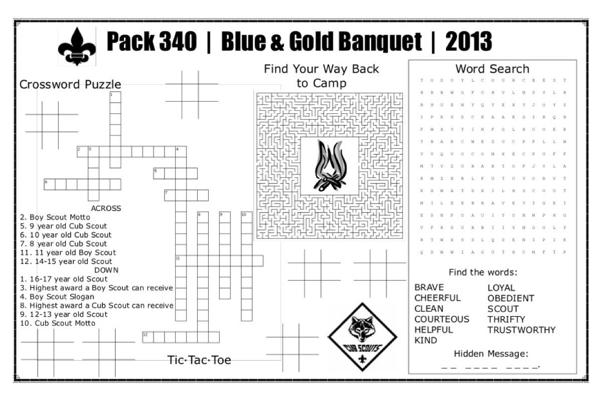 Pin by amy carlisle on for the cub scouts pinterest for Cub scout blue and gold program template