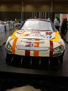 Nascar Cake Cake Boss How Big Can They Make Their Cakes Baking