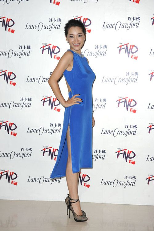 Chinese actress Kong Wei at FNO Beijing
