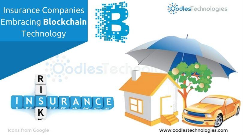 Insurance Companies Embracing Blockchain Technology Blockchain Technology Blockchain Insurance Company