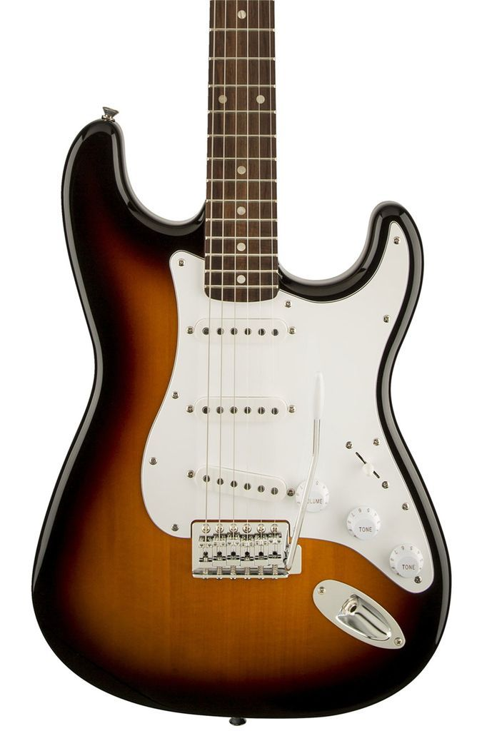 Squier Affinity Series Stratocaster with Rosewood Fingerboard - Brown Sunburst