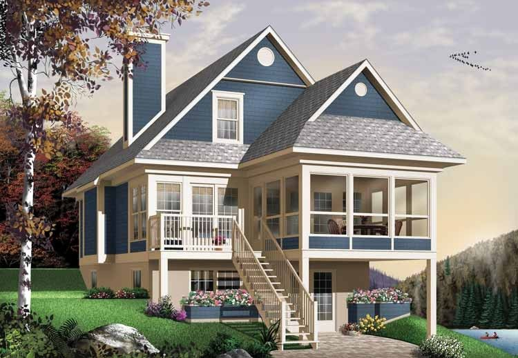 Hauspläne bungalow  Eplans Bungalow House Plan - Utterly Relaxing - 1484 Square Feet ...