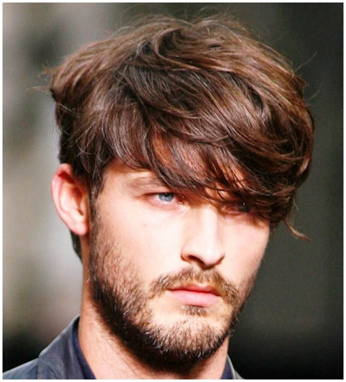 Long Thick Hair Men Mens Long Hair Styles on