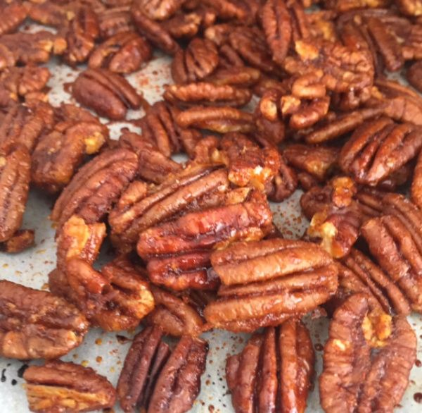Sweet'n'Spicy Pecans