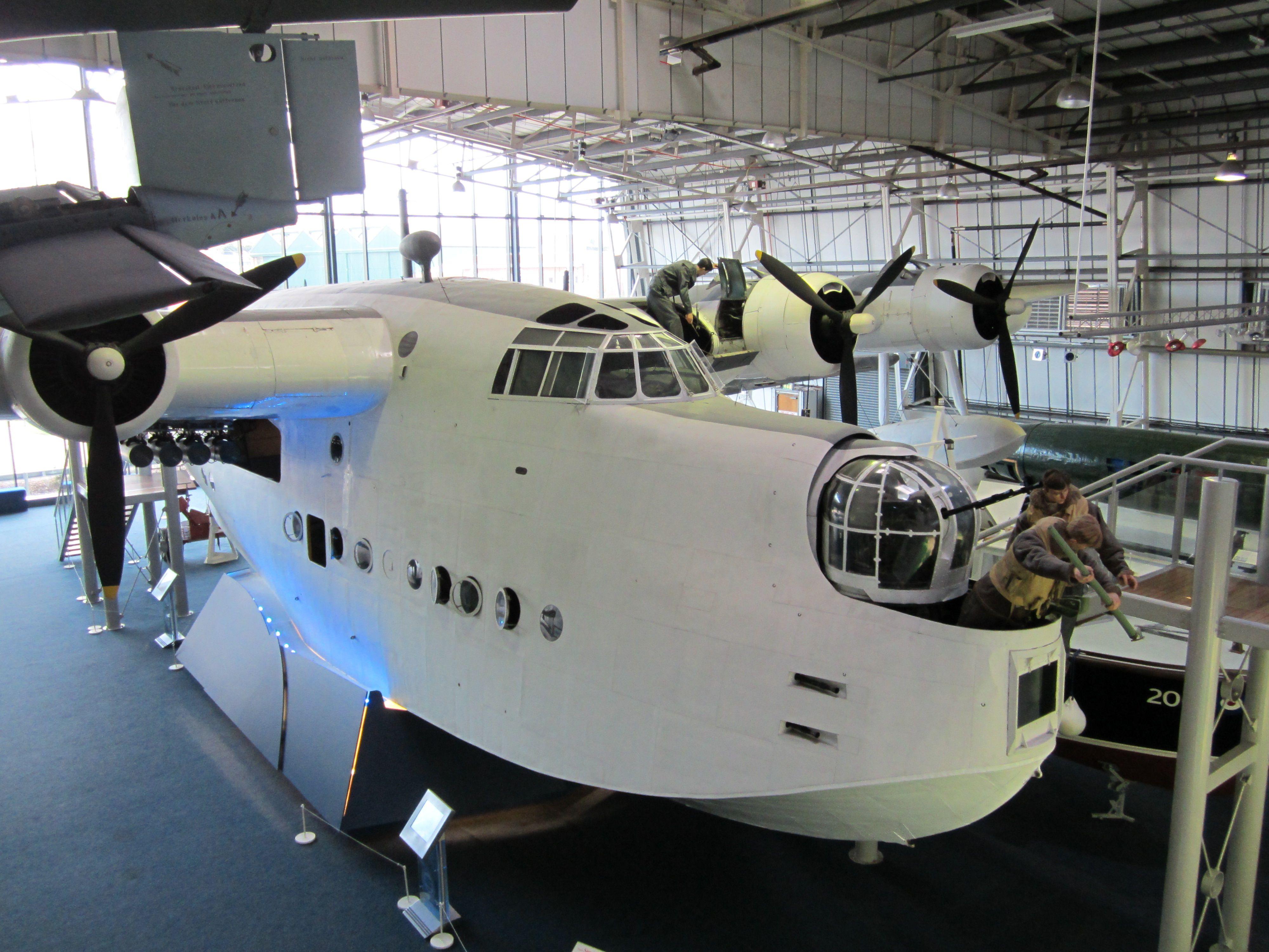 Short Sunderland V ,RAF Museum, Hendon,London