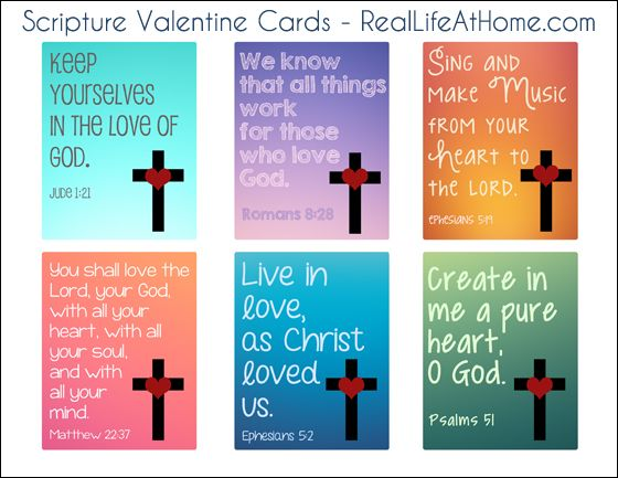 Religious Valentine Cards For Kids {Free Printable | Valentine Day