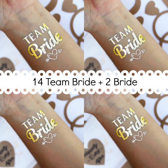 Temporary tattoo favor, bachelorette party, bachelorette tattooo, bachelorette party favors, temporary tattoo, hen party, team bride