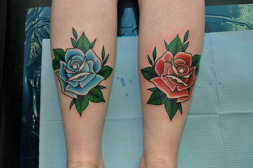 Traditional Rose Tattoo Traditional Rose Tattoos Blue Rose Tattoos Traditional Tattoo