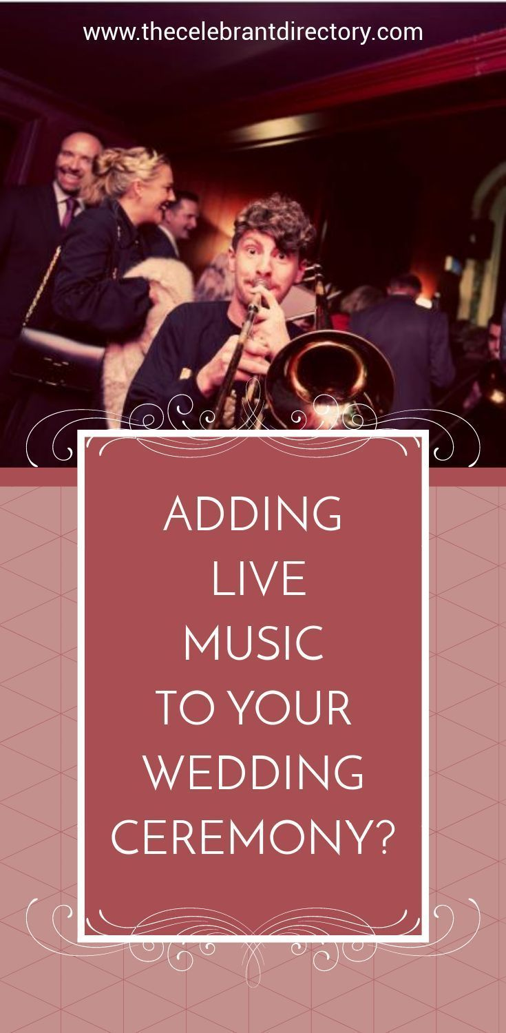 Live music to jazz up your wedding ceremony in 2020