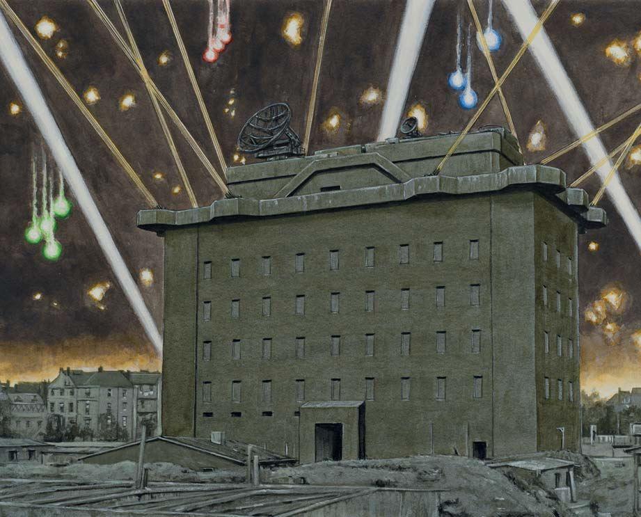 LEITTÜRM I,1. FLAKDIVISION,BERLIN in 2020 Flak tower