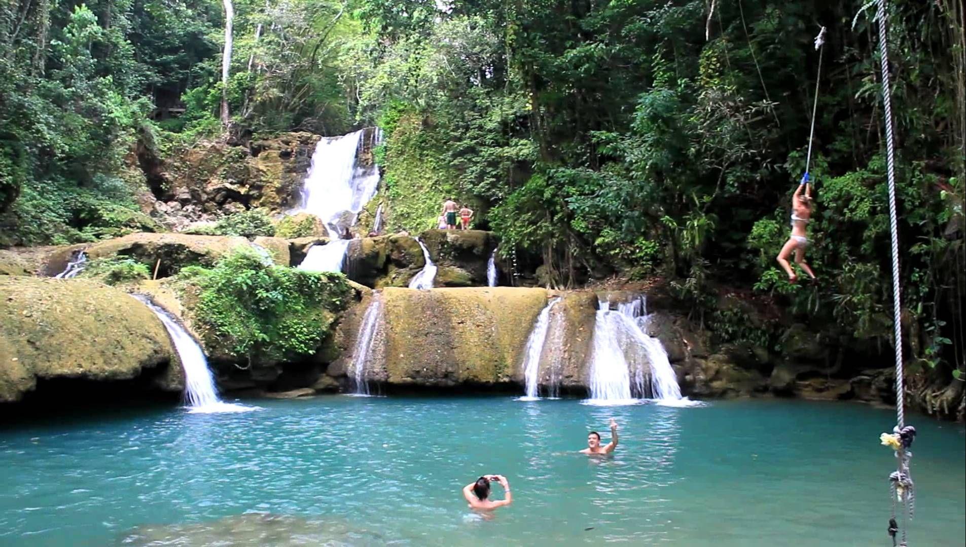 A Wild Waterfall Negril Jamaica