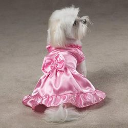 Wedding Party Dog\'s Bridesmaid Dress | Pet accessories, Dog and Weddings